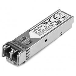 StarTech.com Módulo Transceptor de Fibra SFP de 1 Gigabit 1000Base-SX, Multimodo LC, 550m, para HP JD118B