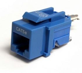 StarTech.com Jack Categoría 5e Tipo Keystone, RJ-45, Azul - Modular sin Herramientas