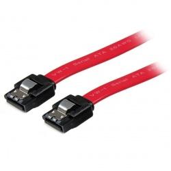 StarTech.com Cable SATA con Cierre de Seguridad Macho - Macho, 30cm, Rojo