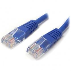 StarTech.com Cable Patch Cat5e UTP Moldeado RJ-45 Macho - RJ-45 Macho, 1.8 Metros, Azul