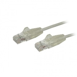 StarTech.com Cable Patch Cat6 UTP Sin Enganches RJ-45 Macho - RJ-45 Macho, 20cm, Gris