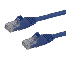 StarTech.com Cable Patch Cat6 UTP sin Enganches RJ-45 Macho - RJ-45 Macho, 1.8 Metros, Azul