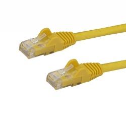 StarTech.com Cable Patch Cat6 UTP sin Enganches RJ-45 Macho - RJ-45 Macho, 20cm, Amarillo