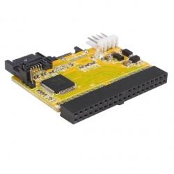 StarTech.com Adaptador IDE ATA - 2 Puertos de Disco Duro SATA, 150 Mbit/s