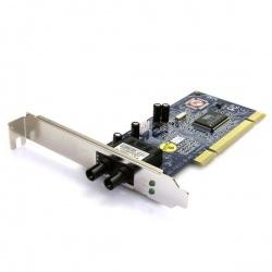 StarTech.com Tarjeta de Red PCI de Fibra Óptica ST Multimodo, 2km de Alcance