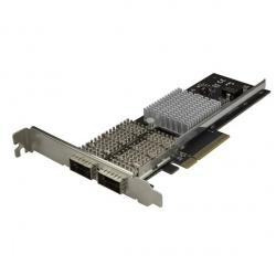 StarTech.com Tarjeta  de Red PCI Express QSFP+ de Dos Puertos, Intel XL710, 40000 Mbit/s