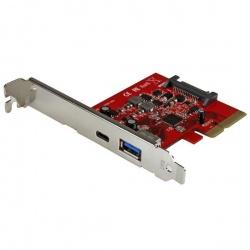 StarTech.com Tarjeta PCI Express de 2 Puertos USB 3.1 Gen2 1x USB-A 1x USB-C