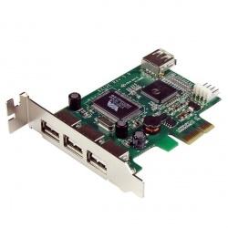 StarTech.com Tarjeta PCI Express Perfil Bajo USB 2.0 de Alta Velocidad
