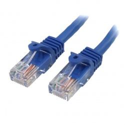 StarTech.com Cable Patch Cat5e UTP sin Enganches RJ-45 Macho - RJ-45 Macho, 1.8 Metros, Azul