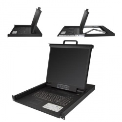 StarTech.com Consola KVM para Rack, con Pantalla 19