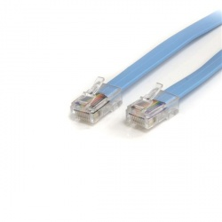 StarTech.com Cable Rollover de Consola Cisco, Ethernet RJ-45 Macho - Macho, 1.8 Metros, Azul