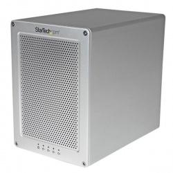 StarTech.com Gabinete Thunderbolt 2 con 4 Bahías RAID, 3.5'', Carcasa con Ventilador y Cable Incluído