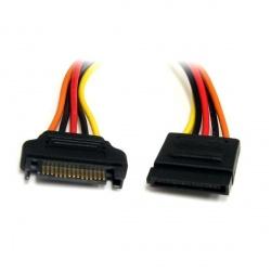 StarTech.com Cable de Extensión de Alimentación Corriente SATA, 30cm