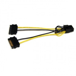 StarTech.com Adaptador 2x SATA Macho - PCI-E Macho, 15cm
