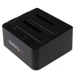 StarTech.com Docking Station USB 3.1 con UAS para 2 Discos Duros o SSD, 2.5''/3.5'', SATA
