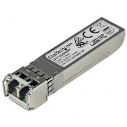 StarTech.com Módulo Transceptor de Fibra SFP+ 10GBase-SR, Mini GBIC, Multimodo LC, 300m, DDM, para Cisco SFP-10G-SR-S