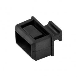 StarTech.com Cubiertas Antipolvo para Plug SFP/SFP+, Negro, 10 Piezas