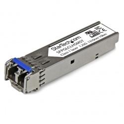 StarTech.com 1000BASE-LH Mini-GBIC SFP Módulo Transceptor, 10.000 Metros, Fibra Monomodo, para Cisco