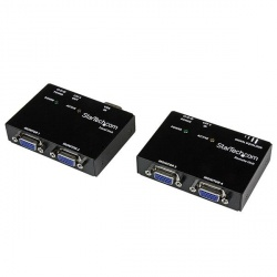 StarTech.com Kit Juego Extensor de Video VGA por Cable Cat5 UTP Ethernet de Red (Serie ST121)