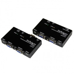 StarTech.com Extensor de Video VGA y Audio por Cable Cat5 UTP Ethernet - 4 Puertos HD15