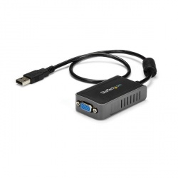 StarTech.com Adaptador de Video Externo USB a VGA, Tarjeta de Video Externa Cable, 1440 x 900 Pixeles