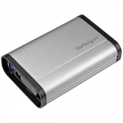 StarTech.com Capturadora de Video DVI, USB 3.0, 1080 Pixeles, Aluminio