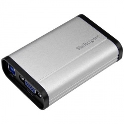 StarTech.com Capturadora de Video VGA, USB 3.0, 1080 Pixeles, Aluminio