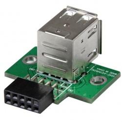 StarTech.com Adaptador Header USB de 2 Puertos, para Tarjeta Madre