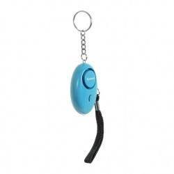 Steren Alarma Personal con Linterna ALA-039, 120dB, Azul