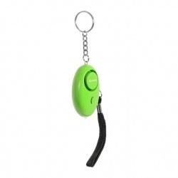 Steren Alarma Personal con Linterna ALA-039, 120dB, Verde