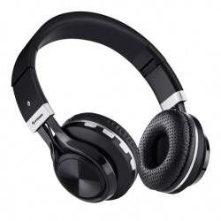 Steren Audífonos con Micrófono Xtreme, Bluetooth, Inalámbrico, Negro