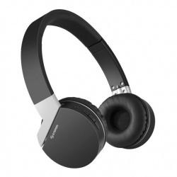 Steren Audífonos con Micrófono AUD-799, Bluetooth, Inalámbrico, Negro/Blanco