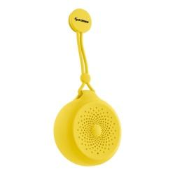 Steren Bocina Portátil Shower, Bluetooth, Inalámbrico, 3W RMS, USB, Amarillo