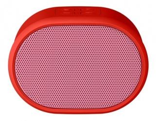 Steren Bocina Portátil BOC-871, Bluetooth, Inalámbrico, USB, Rojo