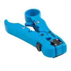 Steren Pinza Pela Cable HER-045, Coaxial, UTP, Azul
