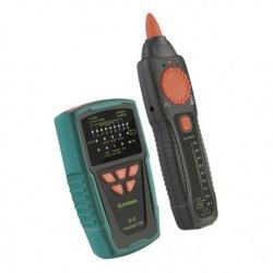 Steren Generador Profesional de Tonos y Probador de Cables UTP, Negro/Verde/Rojo