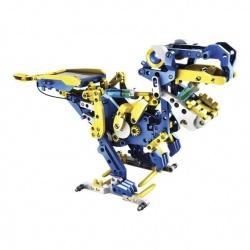 Steren Kit de Programación Mecánica 5 en 1 K-730, Azul/Amarillo