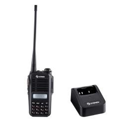 Steren Radio Análogo Portátil RAD-610, 16 Canales. Negro