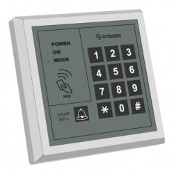 Steren Lector de Tarjetas con Teclado RFID SEG-155, 500 Usuarios, Gris