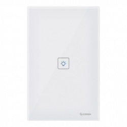 Steren Interruptor de Luz Inteligente Touch SHOME-111, WiFi, Blanco