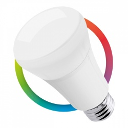 Steren Foco Tipo Pera Inteligente SHOME-120, WiFi, RGB, 7W