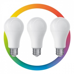 Steren Foco LED Inteligente SHOME-120/3, WiFi, Multicolor, 10W, 3 Piezas