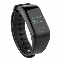 Steren Smartwatch Smart Band-100, Touch, Bluetooth 4.0, Android/iOS, Negro - Resistente a Salpicaduras