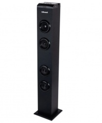 STF Mobile Bocina Obelisk, Bluetooth, Alámbrico, 20W, USB, Negro
