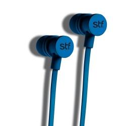 STF Mobile Audífonos Intrauriculares con Micrófono Gravity, Inalámbrico, Bluetooth, Azul