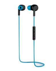 Stylos Audífonos Intrauriculares Deportivos con Micrófono STSDIX1A, Inalámbrico, Bluetooth, Azul