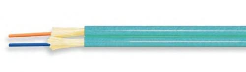 Superior Essex Cable Fibra Óptica Duplex de 2 Hilos, Monomodo, Azul