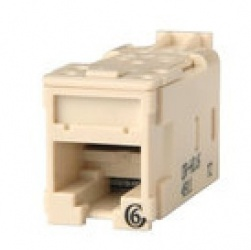 Superior Essex High Density Jack Categoría 6 Clarity T568A/B, Blanco