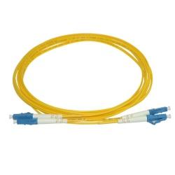 Superior Essex Cable Fibra Óptica LC Macho - LC Macho, 3 Metros, Amarillo