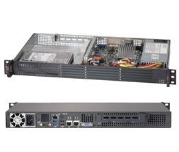 Supermicro Superserver 5017A-EF, Intel Atom 2GHz (Barebone)